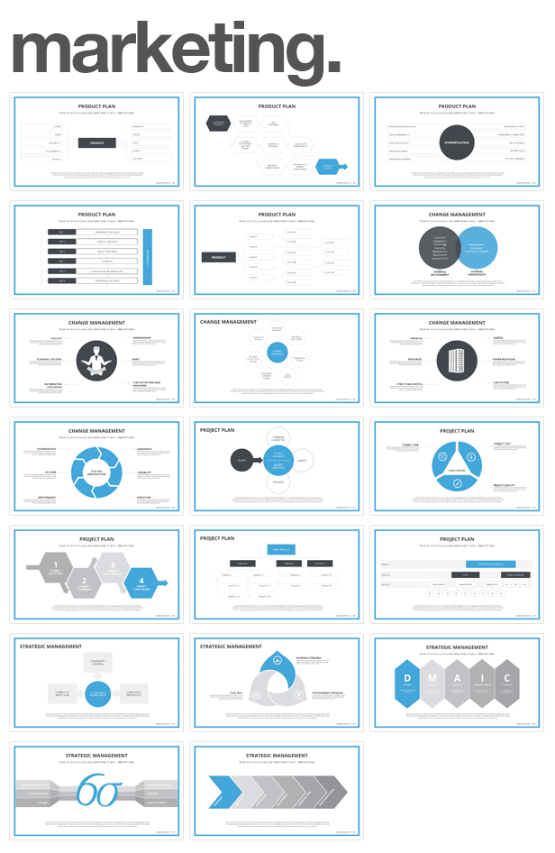 business and marketing Monday PowerPoint Template (PowerPoint Templates)