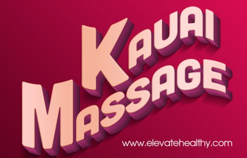 Browse this site http://www.elevatehealthy.com/ for more information on Kauai Massage. Kauai Massage sessions have always known to be relaxing when there is an external pressure applied to the body and accordingly relieving the muscles of stress and pain. There are varied kinds of massage where the use of medicated oils and similar lubricants are used to relax the body in a better way. There are specialized massage centres that have professional masseurs who ensure that the best massage therapy is given out to their clients.Follow Us : http://vimeo.com/massagekauai http://www.youtube.com/channel/UCKQomnzMyc3Fc2Pf9vCGOfg http://storify.com/KauaiMassage http://www.linkedin.com/in/angela-babcock-845222127