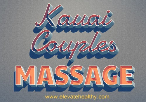 Look at this web-site http://www.elevatehealthy.com/kauai-couples-massage/ for more information on Kauai Couples Massage. Massage therapy can find trigger points in the back and help to massage out those painful knots. The overall effect is feeling more relaxed and healthier. It is also proven that Kauai Couples Massage therapy will release the lactic acid that tends to accumulate in tight muscles and knots. You get to release each other's pain in the best way possible being in each other's company.Follow Us : http://kauaimassage.pressfolios.com/ http://ello.co/massagesinkauai http://kauaimassage.strikingly.com/