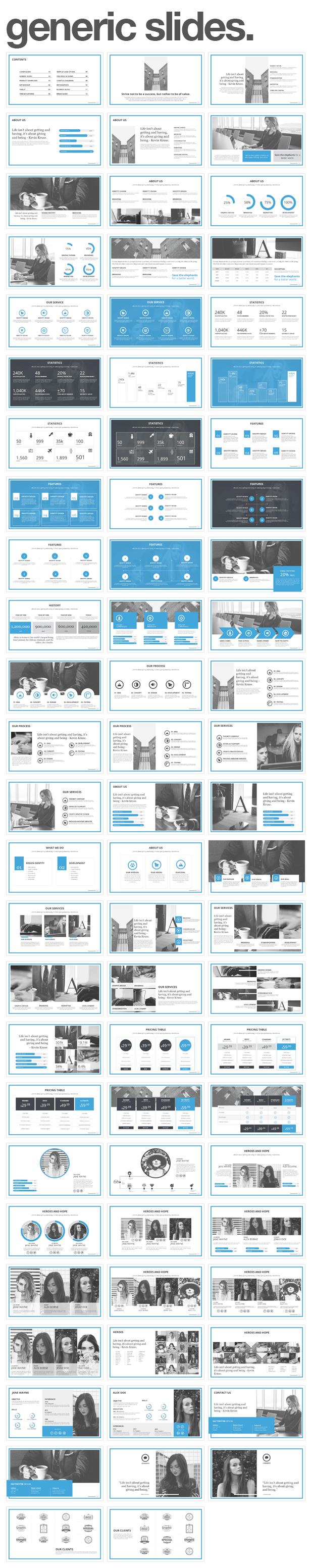 generic slides