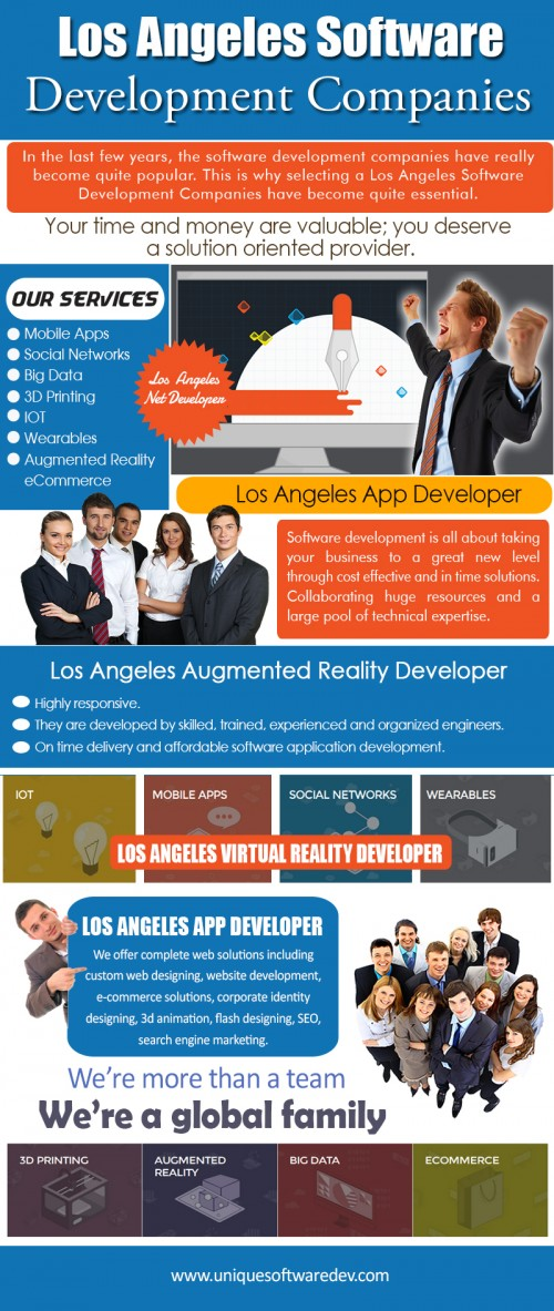 Our Website: http://www.uniquesoftwaredev.com/blog/los-angeles-virtual-reality-developer/ When choosing Los Angeles Virtual Reality Developer, choose those that are able to tailor your app in order to fit a variety of mobile gadgets. Your app should be able to perform well for users of iPhones and users of Android. Virtual Reality development can be a lucrative venture so if you're looking to make money off your application idea, then your mobile app developers should know how to incorporate this idea into the app. Follow Us: https://www.behance.net/DallasIoTDeveloper My Profile: http://imgpaste.net/user/dallasmobileapp More Links: http://imgpaste.net/image/ukakN http://imgpaste.net/image/ukkpF http://imgpaste.net/image/uknTP