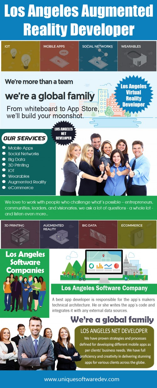 Our Website: http://www.uniquesoftwaredev.com/blog/los-angeles-software-companies/ Los Angeles Software Companies are experienced in answering any questions you may have about their products. They can also assist you with prices on their products and services. They provide cost effective and innovative solutions to meet your needs. They have a very strong commitment towards customer satisfactions. These companies are also specialists and experts in social networking. They can design and build web-based applications. Follow Us: https://www.intensedebate.com/people/dallasmobileapp My Profile: http://imgpaste.net/user/dallasmobileapp More Links: http://imgpaste.net/image/ukLUm http://imgpaste.net/image/ukWZS http://imgpaste.net/image/ukakN