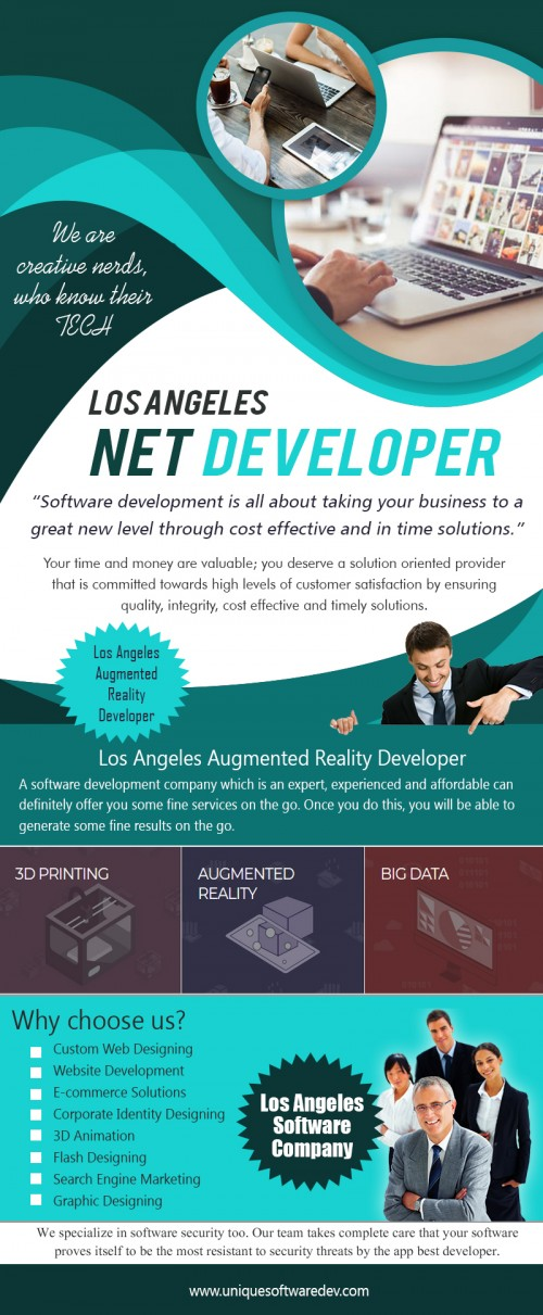 Our Site : http://www.uniquesoftwaredev.com/blog/los-angeles-net-developer/ The Los Angeles IoT Developer focuses on technologies ranging from IoT device design to gateway deployment and from software optimization strategies to security solutions, as well as applying deep-learning techniques to monitor and manage the enormous loads of device-generated data. MY social : https://twitter.com/dallasmobileapp More Links : http://dallassoftwarecompanies.weebly.com/los-angeles-virtual-reality-developer.html http://losangelesappcompany.bravesites.com/ https://losangelesappcompany.wixsite.com/losangelesapp