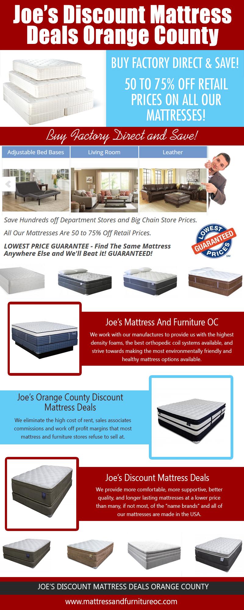 Mattress Deals Orange County