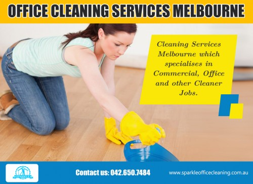 Our website : www.sparkleofficecleaning.com.au/office-cleaning-services-melbourne/    An office environment is made up of multiple valuable items; there's electronics, furniture, carpets to name a few. The more regularly they are maintained, longer they will last. Dust buildup can cause computers and printers to malfunction. Stains can ruin the look of carpets. Professional Cleaning Services southyarra Melbourne can give you a thorough and timely cleanup that will prolong the life of your office supplies.   More Links : https://twitter.com/Vacate_Cleaning   https://plus.google.com/u/0/communities/114244115246992496499    http://officecleaningservices-melbourne.blogspot.com   sparkleofficecleaning.com.au
