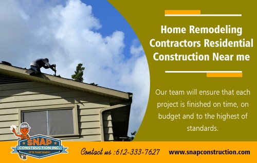 Home Remodeling Contractors Residential Construction Near