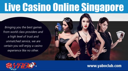 Find the best online casino for you with Singapore casino sites at https://yaboclub.com/sg/live-casino  Service: live casino singapore	 live casino online singapore  If you are looking for the same excitement as a live casino from your own home, then you will want to try an online Singapore casino. All you will need is a computer or mobile device and an internet connection. Broadband connections work much better with online casino software than dial-up connections.   Social: https://www.pinterest.com/sportsbetmalaysia/ https://www.instagram.com/sportsbetmalaysia/ http://www.alternion.com/users/sportsbetmalaysia/ http://www.apsense.com/brand/yaboclub https://www.juicer.io/sportsbetmalaysia https://www.yumpu.com/user/OnlineCas1noSingapore http://malaysiabestonlinecasino.brandyourself.com/ https://slotgamesinsingapore.bookmark.com/ https://malaysiabestonlinecasino.yolasite.com/