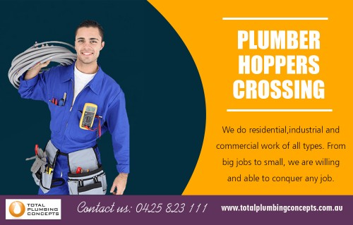 Find us:  https://goo.gl/maps/7DyfzQGeTwG2  Plumber in hoppers crossing with the highest quality artistry At http://totalplumbingconcepts.com.au/plumbing-services/   Company Name - Total Plumbing Concepts Owner Name - Nick McGuane Street Address - 35 Waters dr Seaholme Suite/Office - 2/21Gervis dr City - Werribee State - Vic Post Code - 3030 Primary Phone Number - 0425823111  Business Categories -   Plumbing Construction Residential Commercial Gas fitting General Plumbing  Primary Email - Info@totalplumbingconcepts.com.au  Secondary Email - nick.mcguane@bigpond.com  Brands - Reece Plumbing , Aquamax , Rinnai , Rheem ,  Products/Services - Hot water Installation, Gas fitter ,Drainage ,camera and jetting equipment  Year Established - 2010  Hours of Operation  Mon- to Fri 7-5,Sat 7-2,Sun Closed  Deals Us  Plumber altona Plumber Werribee  Plumber hoppers crossing Plumber tarneit Plumber Williamstown  If you are considering remodeling your bathroom or would like updates on the plumbing in your home, then you will require a permit to make such changes. In such cases, you will need to hire a professional plumber because they follow the rules and regulations. An experienced plumber will abide by the codes and will be able to complete the task in a hassle-free manner, and if you need urgent help, then Plumber in hoppers crossing is here to help you.    Social  https://www.businesslistings.net.au/Plumbing/VIC/Werribee/Total_Plumbing_Concepts/386289.aspx http://lekkoo.com/v/5c9b4b935c4940e42f000008/Total_Plumbing_Concepts https://wiseintro.co/total-plumbing-concepts https://www.siachen.com/totalplumbingconcepts